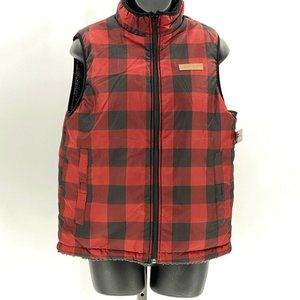 Buffalo David Bitton Buffalo check reversible vest